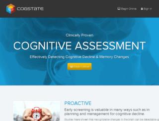 prs.cogstate.com screenshot