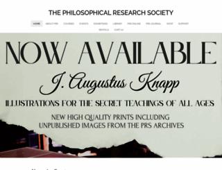 prs.org screenshot