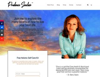 prudencesinclair.com screenshot