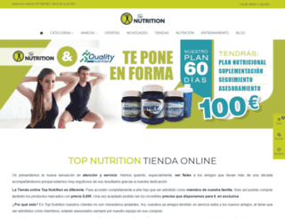 pruebasm.topnutrition.es screenshot