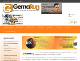 pruebasweb.gemarun.com screenshot