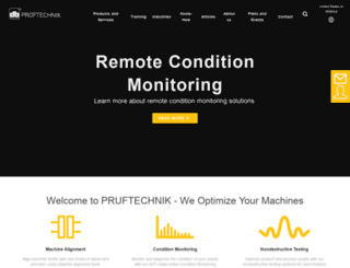 pruftechnik.com screenshot
