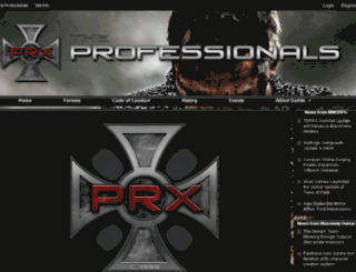 prx-guild.com screenshot