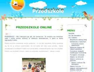 przedszkole-online.pl screenshot