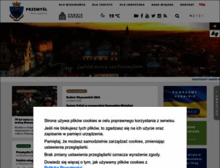 przemysl.pl screenshot