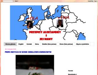 przepisy-aleksandry.blogspot.com screenshot