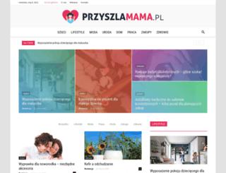 przyszlamama.pl screenshot