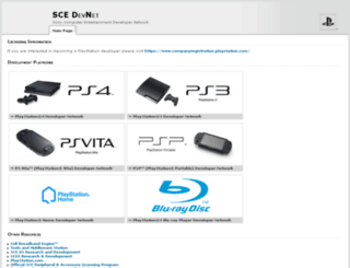 ps4.scedev.net screenshot