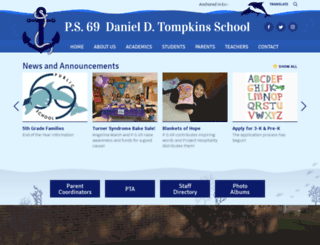 ps69.org screenshot