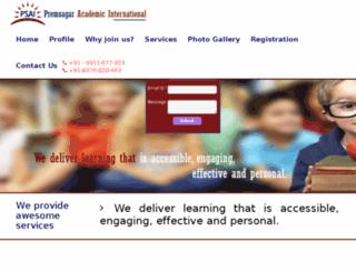 psai.org.in screenshot