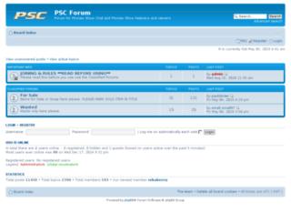 pscforum.co.uk screenshot