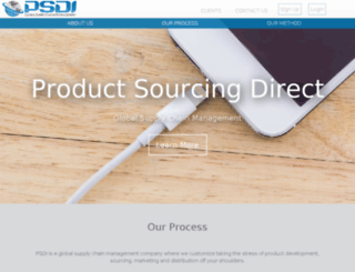 psdisuppliers.com screenshot