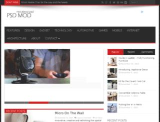 psdmod.com screenshot