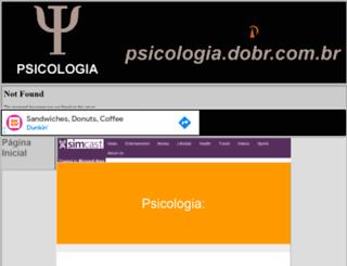 psicologia.dobr.com.br screenshot
