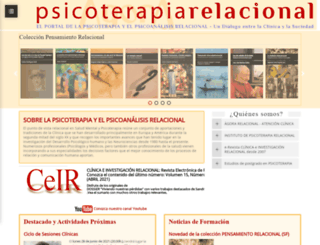 psicoterapiarelacional.es screenshot