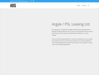 pslleasing.co.uk screenshot