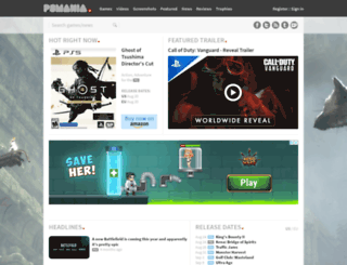 psmania.net screenshot