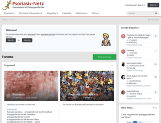psoriasis-netz.net screenshot
