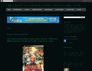 psp-gamez-mediafire.blogspot.mx screenshot