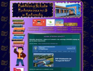 psp8.radomsko.pl screenshot