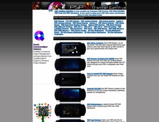 pspthemecentral.com screenshot