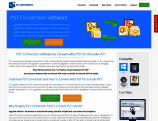 pstconversiontool.com screenshot