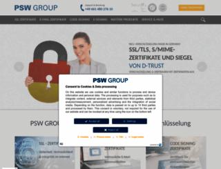 psw-group.de screenshot