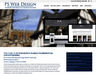 psweb-design.com screenshot