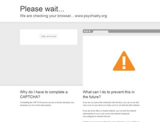 psychiatry.org screenshot