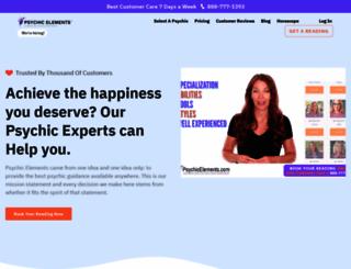 psychicelements.com screenshot