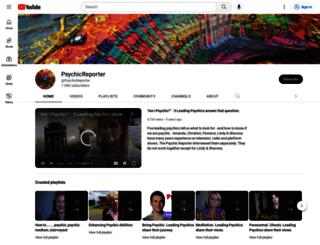 psychicreporter.com screenshot