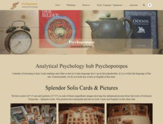 psychopompos.cz screenshot