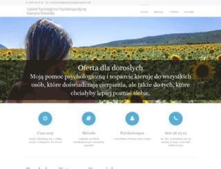 psychoterapia-poznan.net screenshot