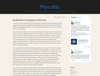 psycritic.com screenshot