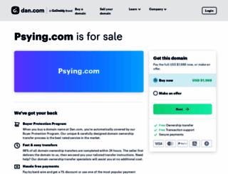 psying.com screenshot