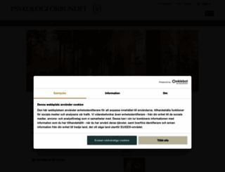 psykologforbundet.se screenshot