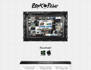 psykopaint.com screenshot