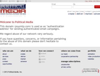 psysmtp.com screenshot