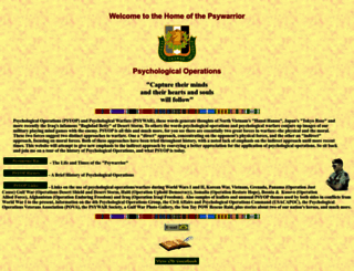 psywarrior.com screenshot