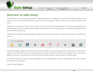 pt.safe-setup.info screenshot