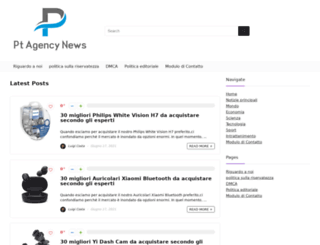 ptagencynews.it screenshot