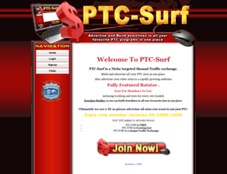 ptc-surf.com screenshot