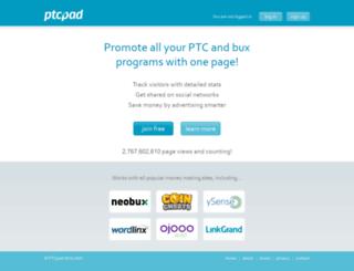 ptcpad.com screenshot