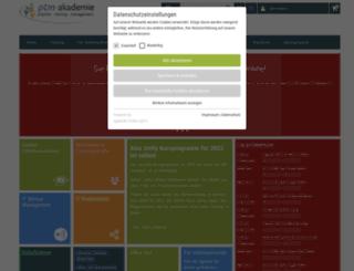 ptm.de screenshot