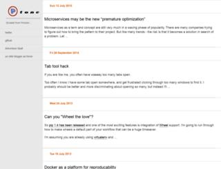 ptone.com screenshot