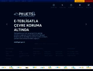ptt.gov.tr screenshot