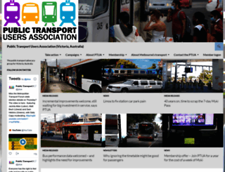 ptua.org.au screenshot