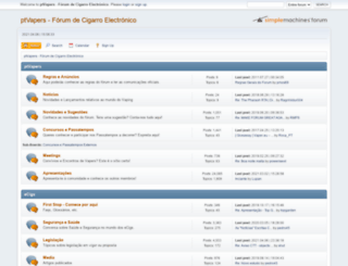 ptvapers.com screenshot
