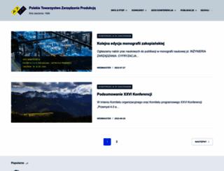 ptzp.org.pl screenshot