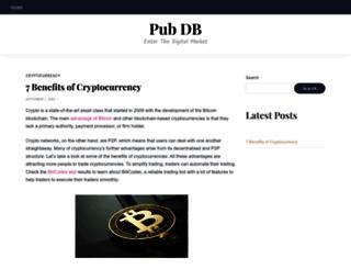 pub-db.com screenshot